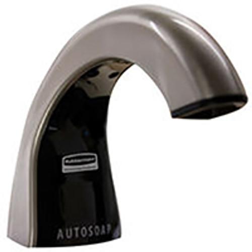 Rubbermaid OneShot Liquid Soap Dispenser - Brushed Chrome/Black