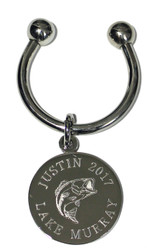 Fishing Engraved Keychains