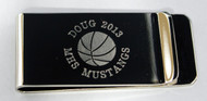 Basketball Money Clip