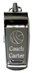 Basketball Whistle-Engraved Basketball Whistle