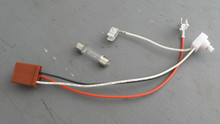 1984-1985; C4; Door Panel Courtesy Light; Electrical Rebuild Kit with Bulb