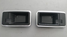 1978-1982; C3; Interior Door Release Handle Bezel; PAIR; NEW