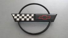 1991-1996; C4; Rear Fuel Gas Door Lid Emblem