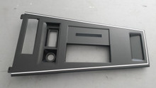 1977-1982; C3; Center Console Shift Trim Plate; Without Cutouts