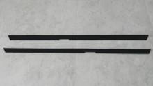 1984-1989; C4; Inner Door Glass Seal Felt Kit; PAIR
