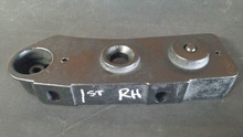 1984-1986; C4; 1st Design; Removable Top Mount Bracket; RH Passenger