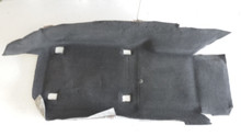 2005-2013; C6; Front Floor Carpet; RH Passenger; EBONY