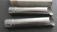1963-1967; C2; Exhaust Tips Extensions; PAIR