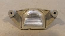 1997-2004; C5; License Plate Lamp Light