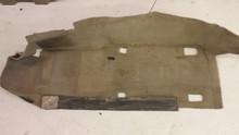 1997-2004; C5; Front Floor Carpet; LH Driver; GRAY