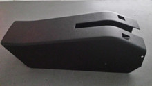 1969-1977; C3; Emergency/ Parking Brake Console Cover; WITH Cutouts; Power Windows