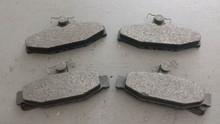 1984-1987; C4; Semi-Metallic Brake Pads; Rear Axle Set: D295