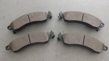 1988-1996; C4; Semi-Metallic Brake Pads; Front Axle Set: D412