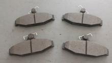 1988-1996; C4; Semi-Metallic Brake Pads; Rear Axle Set: D413