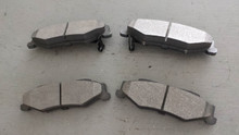 1997-2004; C5; Semi-Metallic Brake Pads; Rear Axle Set: D732