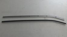 1969-1975; C3; Convertible; Outer Door Glass Seal Felt Kit; PAIR