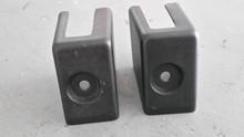 1984-1996; C4; Manual Seat Floor Bolt Covers; PAIR