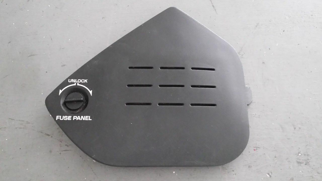 1994 corvette fuse box 1994-1996; c4; fuse box panel cover trim door lid - brads ...