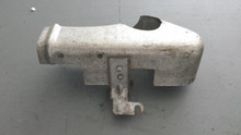 1980-1982; C3; Lower Rear Ignition Heat Shield; RH Passenger