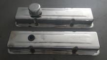 1984-1985; C4; Chrome Engine Valve Covers; PAIR