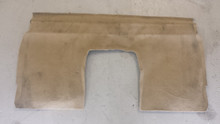 2005-2013; C6; Coupe; Seat Back Riser Carpet; CASHMERE