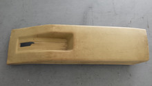 1978-1980; C3; Emergency/ Parking Brake Console Cover & Brace; SADDLE