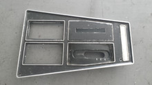 1972-1976; C3; Center Console Shift Trim Plate; Automatic