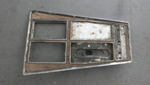 1968-1971; C3; Center Console Shift Trim Plate