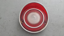 1970-1970; C3; Back Up Reverse Lamp Light Lens