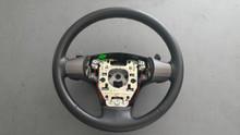 2006-2006; C6; Steering Wheel with Paddles; EBONY