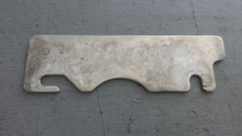 "1984-1996; C4; Front Bumper Shim Plate; 1/8"" Thick"