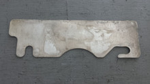 """1984-1996; C4; Front Bumper Shim Plate; 1/16"""" Thick"""