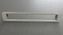 1986-1990; C4; Third Brake Tail Light Lamp Bezel; 3rd; WHITE