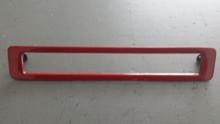 1986-1990; C4; Third Brake Tail Light Lamp Bezel; 3rd; RED