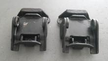 1963-1967; C2; Engine Motor Mount Bracket Bumper; PAIR
