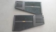 1988-1996; C4; Coupe; Rear Speaker Grille; LH & RH PAIR; BLACK