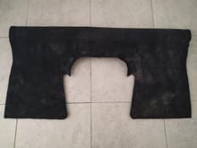 2006-2013; C6; Z06; Seat Back Riser Carpet; EBONY