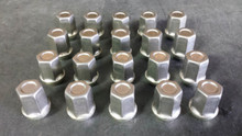 1984-2013; C4; C5; C6; Stainless Steel Capped Lug Nut Set; (Qty 20)