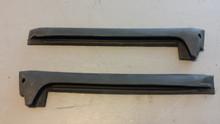 1969-1977; C3; Weatherstrip; Rear Side Glass; B Pillar; PAIR