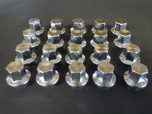 1973-1982; C3; Aluminum Threaded Lug Nut Set; (Qty: 20)