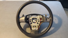 2005-2013; C6; Steering Wheel with Paddles, Radio Control; Ebony