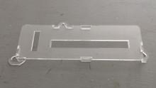 1978-1982; C3; Clear AC Temperature Control Face Plate Cover