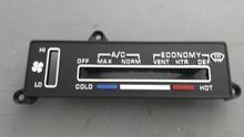 1980-1982; C3; AC Temperature Control Face Plate