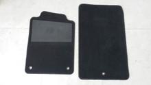 1997-2004; C5; Floor Mat Carpet; PAIR; BLACK