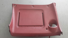 1970-1976; C3; Lower Dash Panel Pad; RH Passenger; D RED