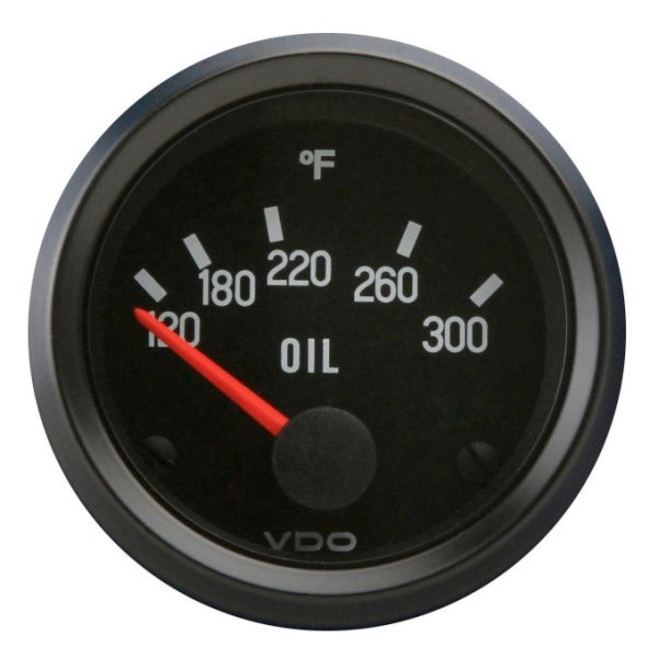 "VDO Cockpit Series 2 1/16"" Oil Temperature Gauge 310012"