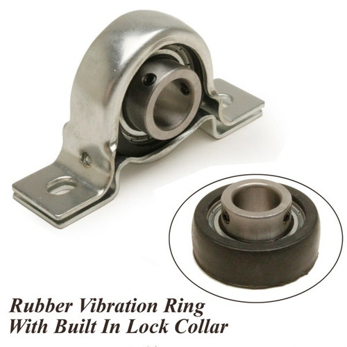 Rubber Isolated Steering Shaft Bearing 3 4 Quot Id Lock Nut