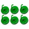 hook magnets green color