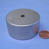 "Neodymium Magnet OD 2 X 1/4 X 1"" Ring"