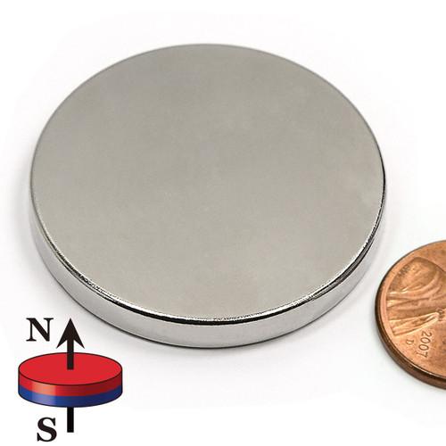"1 1/2""X3/16"" N42 Disc Neodymium Magnet"